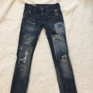 Polo Ralph Lauren Tompkins skinny patchwork, 27W